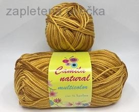 Příze Camila natural multicolor 9206